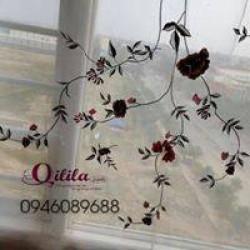 Rèm thêu Quilila