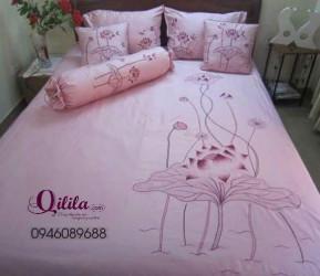 Chăn lụa chần tay- Qilila5
